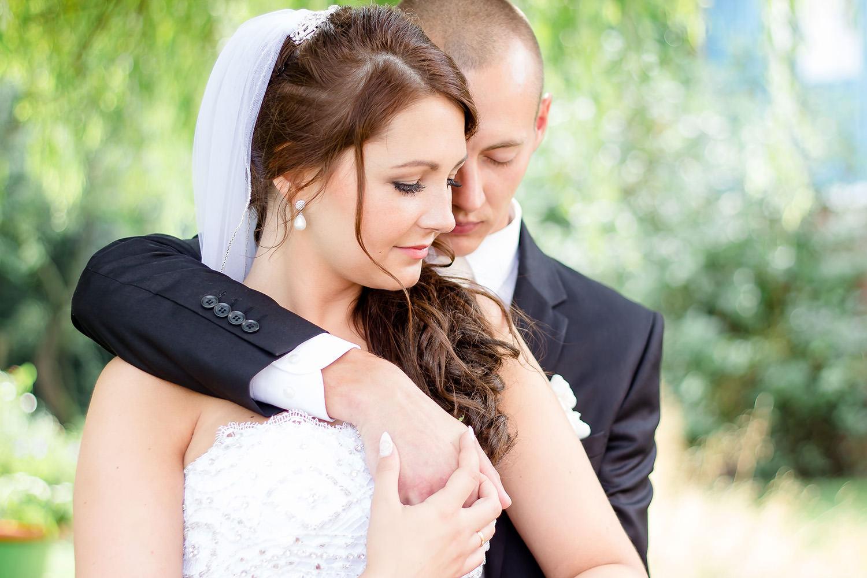 Hochzeitsfoto eines Hochzeitsfotografen auf Borkum