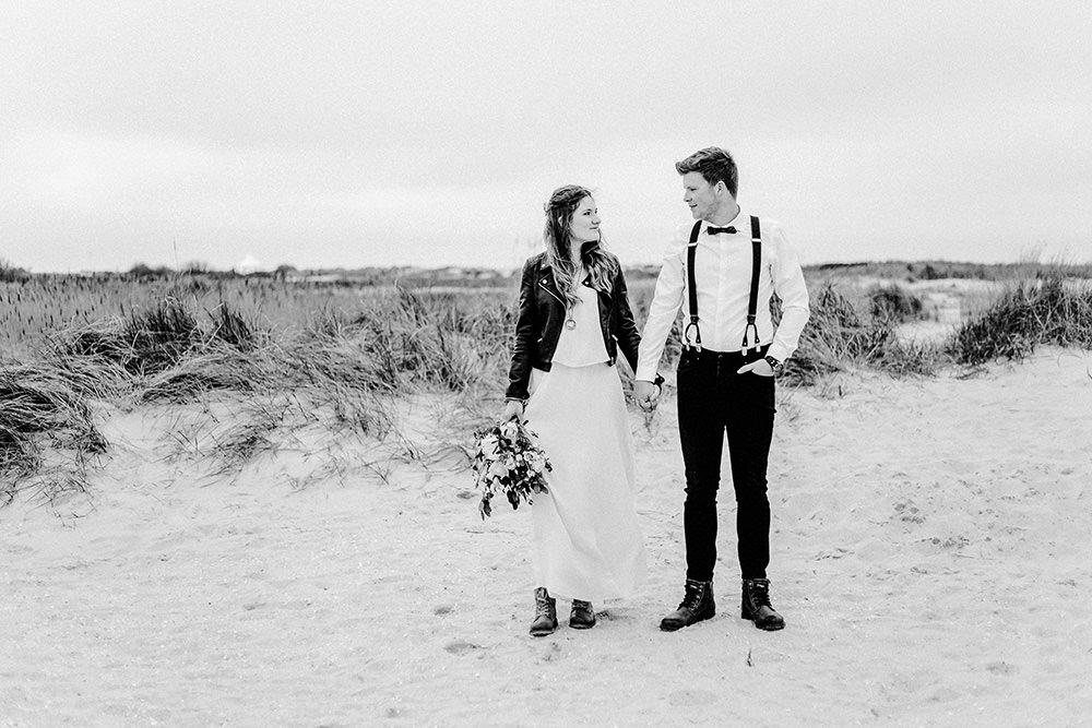 Hochzeitsfoto eines Hochzeitsfotografen in Norderney