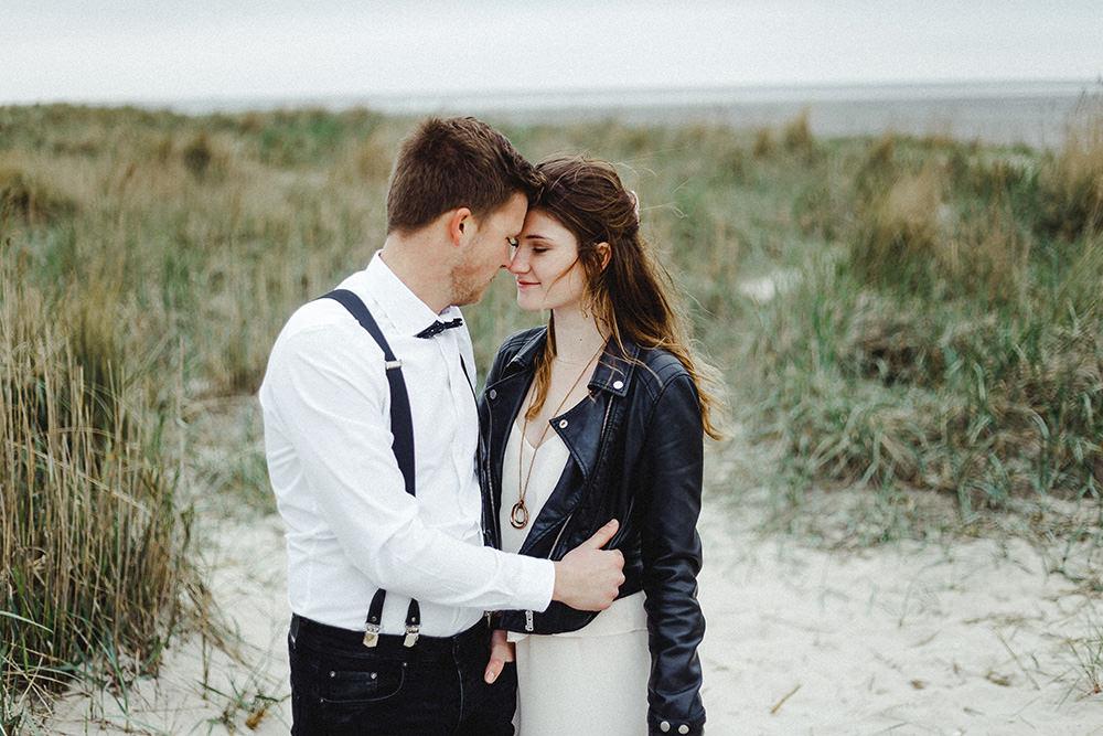 Hochzeitsfoto eines Hochzeitsfotografen in Langeoog