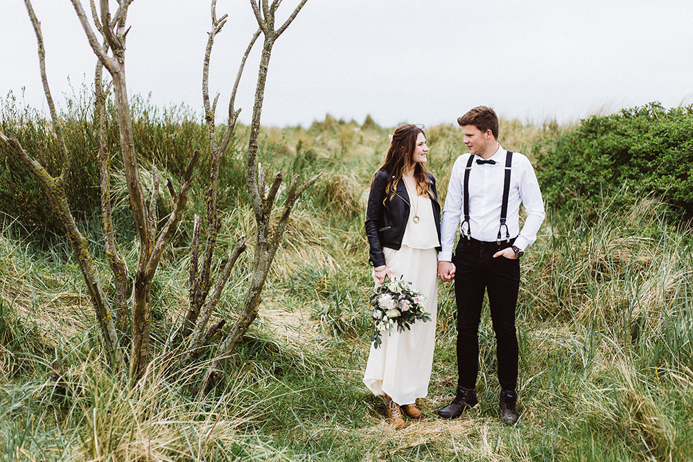 Hochzeitsfoto eines Hochzeitsfotografen in Borkum