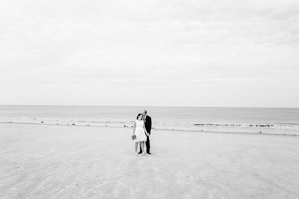 Hochzeitsfoto bzw Hochzeitsfotograf auf Borkum
