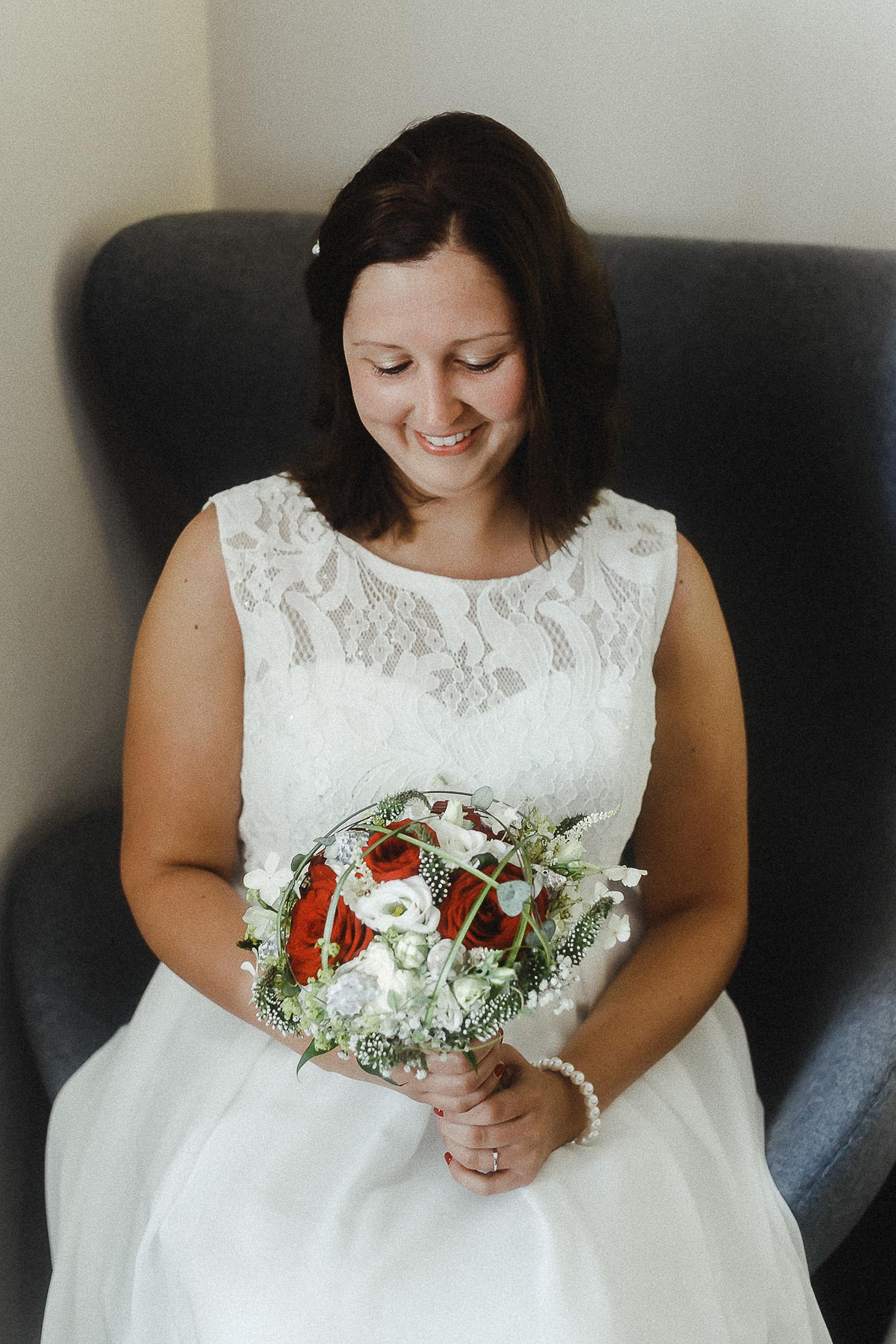 Hochzeitsfoto eines Hochzeitsfotografen auf Langeoog