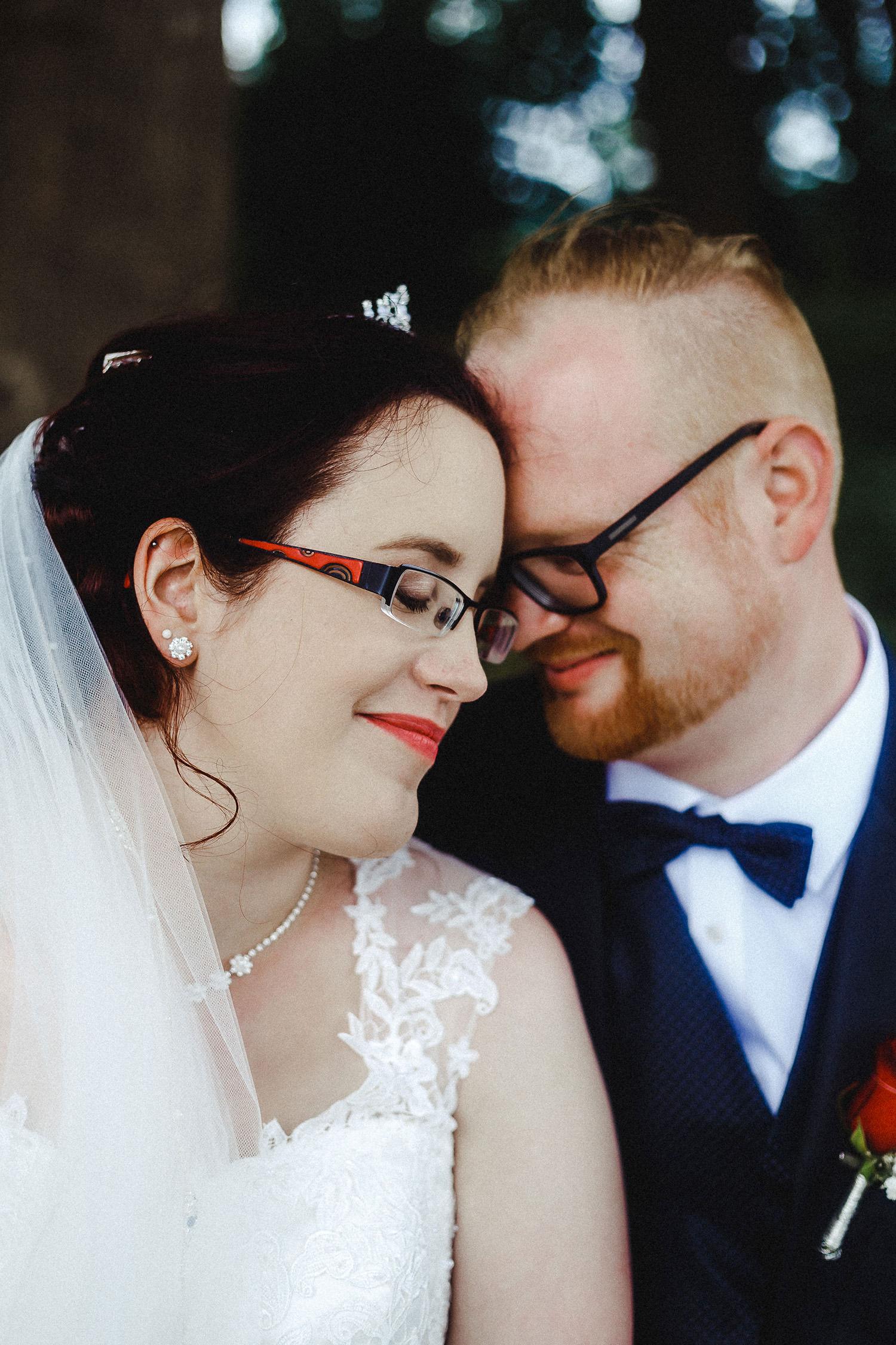 Hochzeitsfoto eines Hochzeitsfotografen in Haseluenne