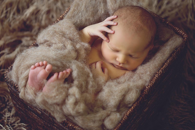 Babyfotos eines Babyfotografen in Meppen