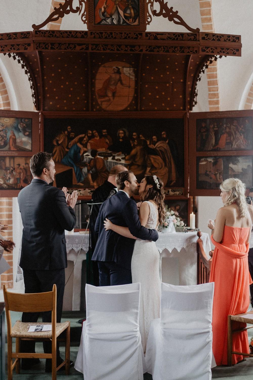 Hochzeitsfoto eines Hochzeitsfotografen in Emsland