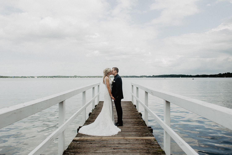 Hochzetisfoto eines Hochzeitsfotografen in Wagenfeld