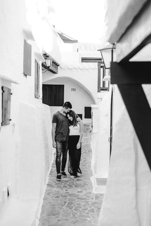 Foto eines Fotografen / Hochzeitsfotografen auf Menorca
