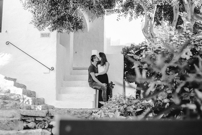 Foto eines Fotografen / Hochzeitsfotografen auf Ibiza