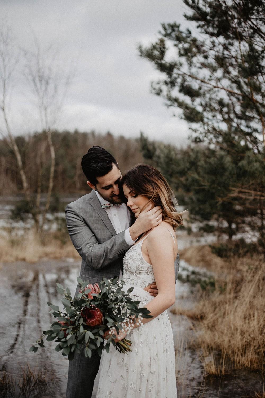 Hochzeitsfoto eines Hochzeitsfotografen im Emsland für einen Workshop