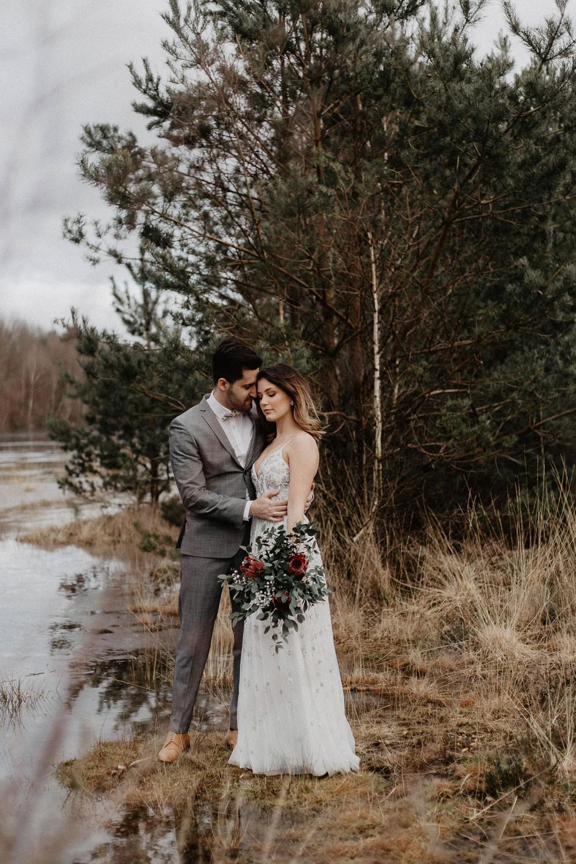 Hochzeitsfoto eines Hochzeitsfotografen in Bispingen