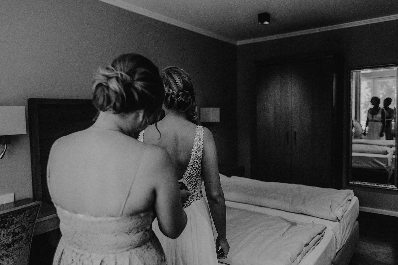 Hochzeitsfoto eines Fotografen auf dem Gut Altona