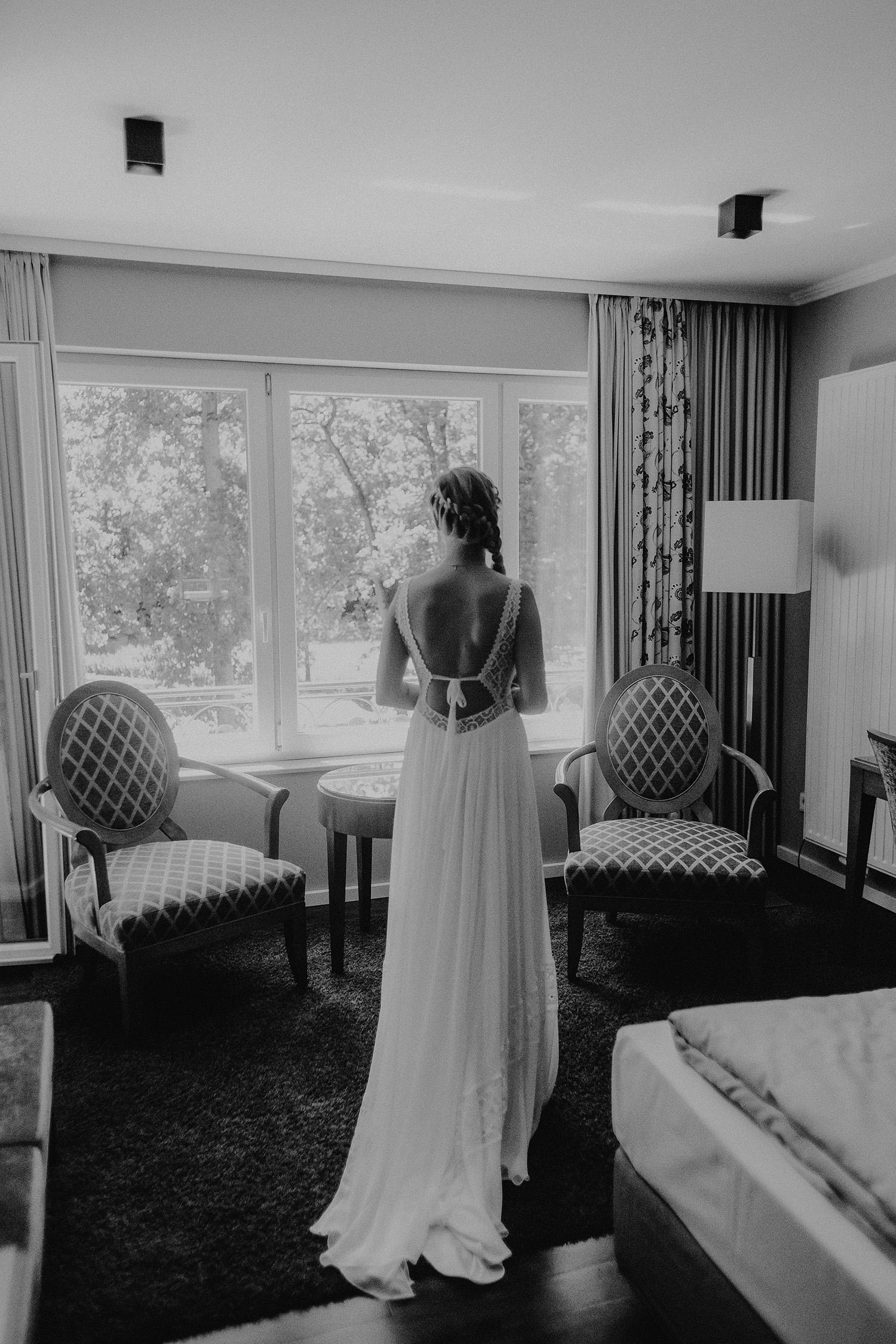 Hochzeitsfoto eines Fotografen in Dötlingen