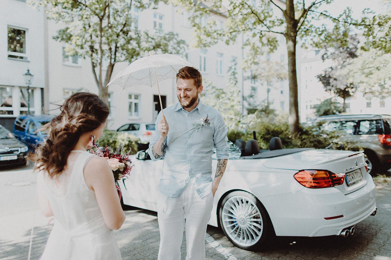 Hochzeitsfoto eines Hochzeitsfotografen in Köln
