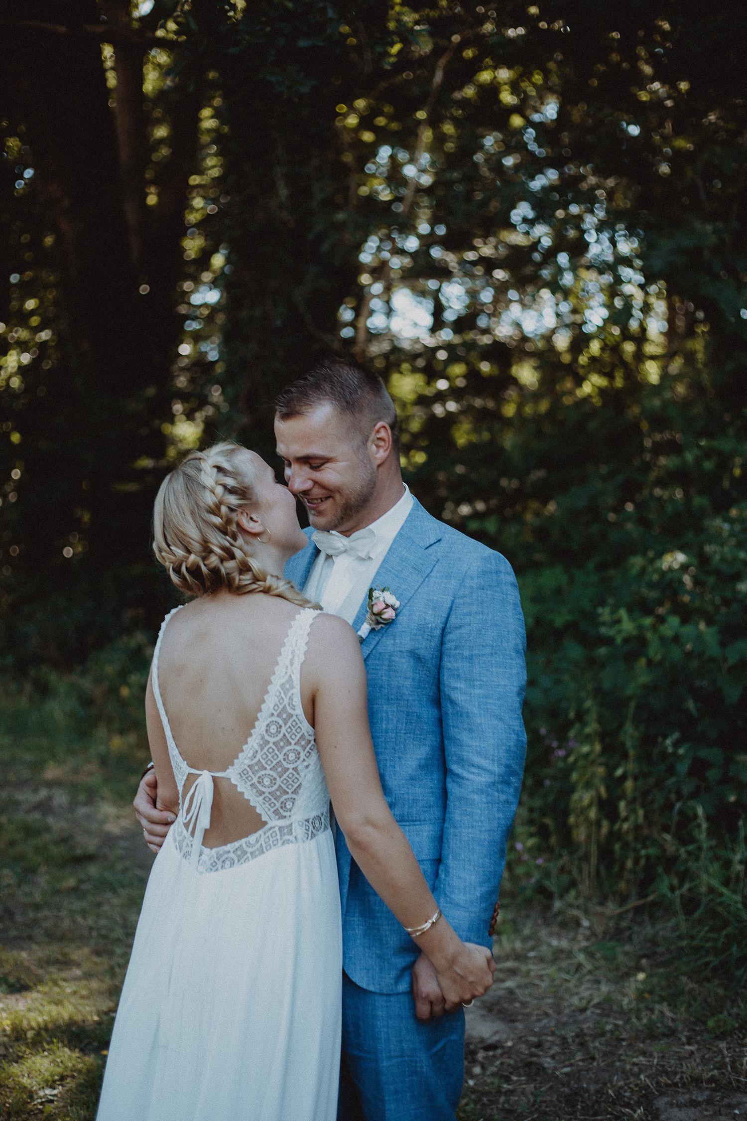 Hochzeitsfoto eines Fotografen in Visbek