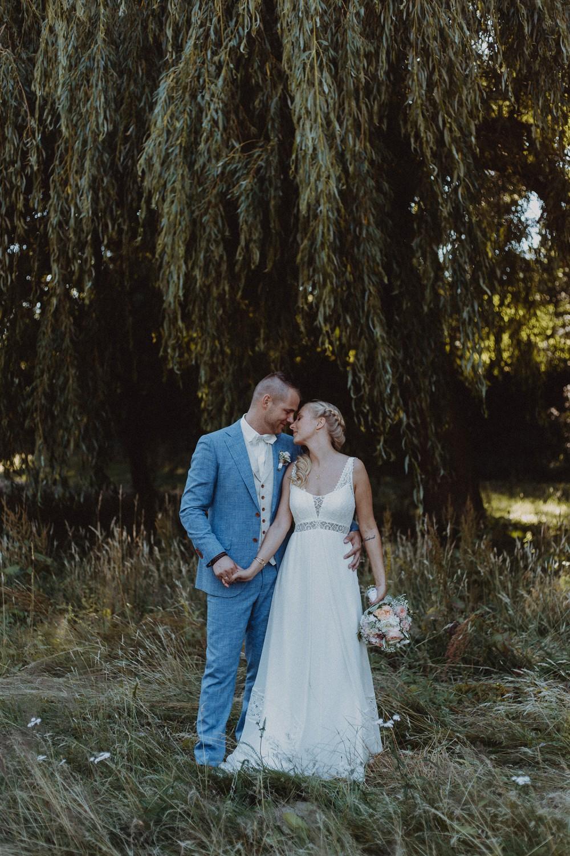Hochzeitsfoto eines Hochzeitsfotografen auf dem Gut Altona