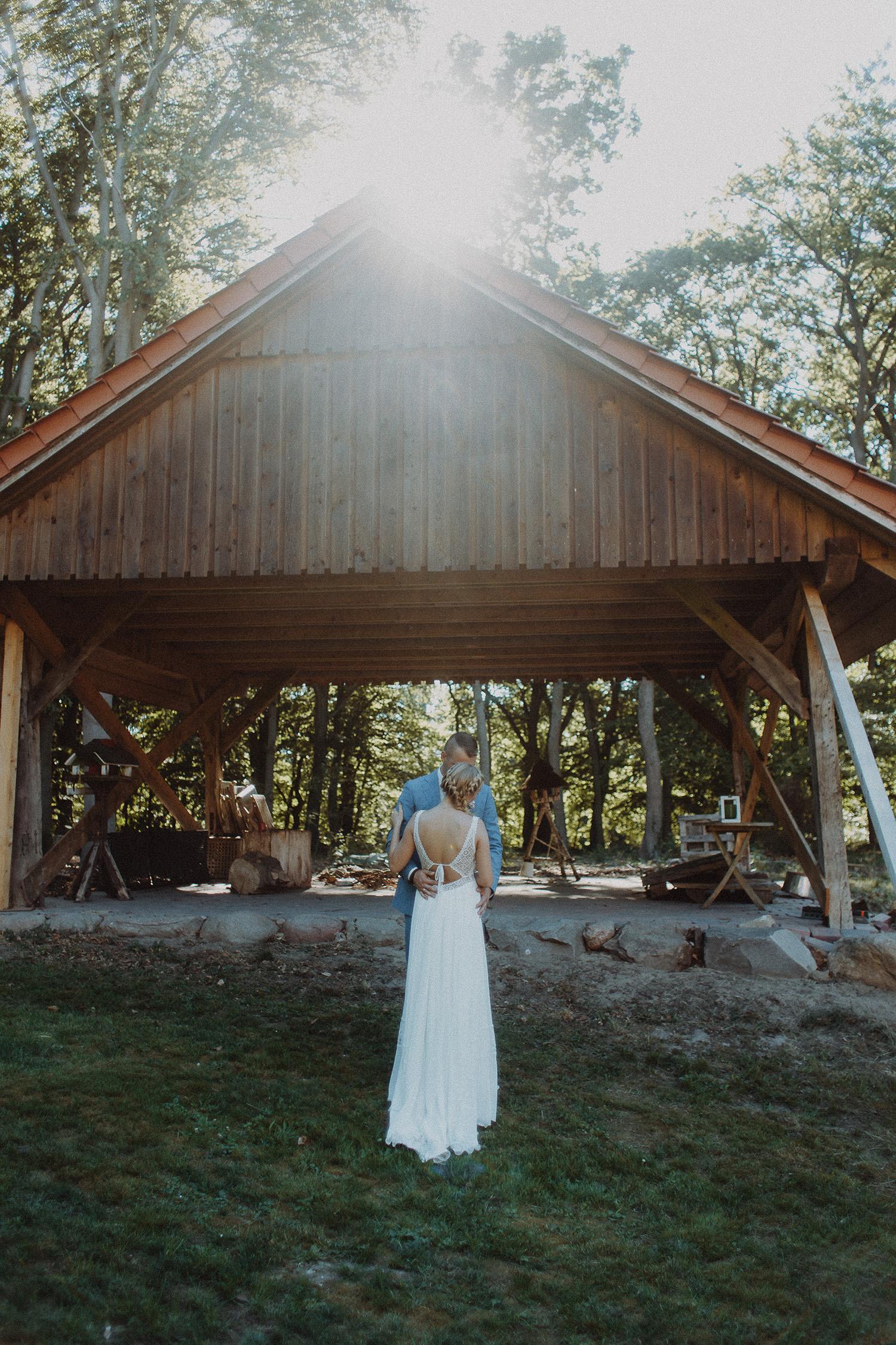 Hochzeitsfoto eines Hochzeitsfotografen in Vechta
