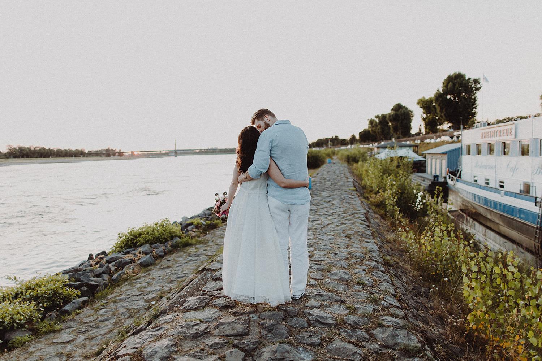 Hochzeitsfoto eines Fotografen in Bonn