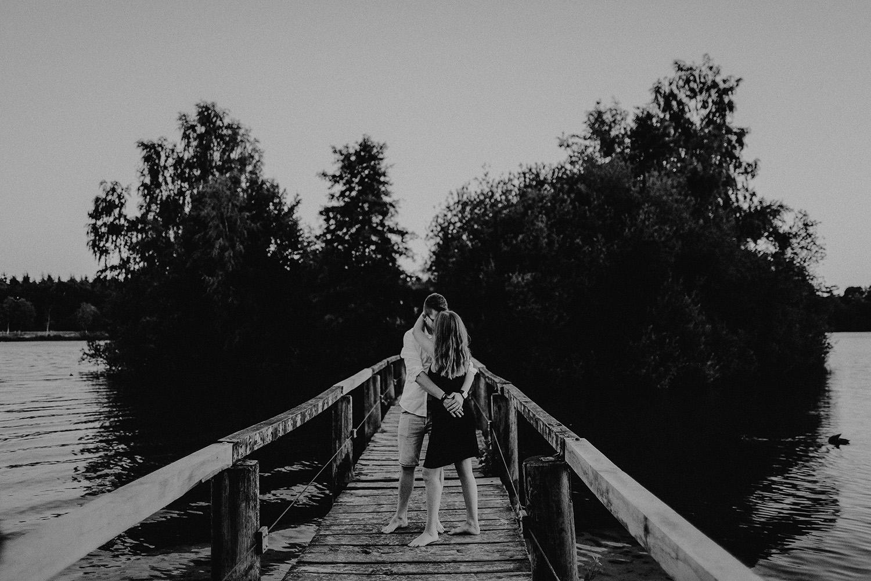 Fotoshooting mit einem Paerchen am Dankernsee in Haren