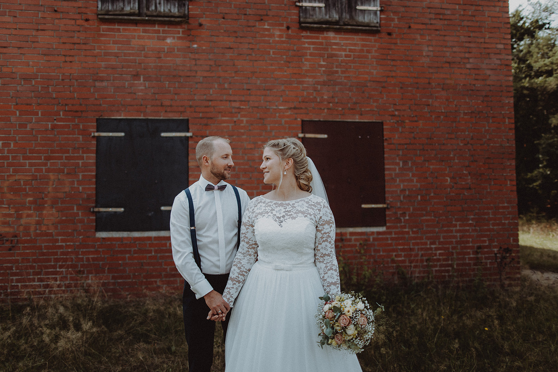 Hochzeitsfoto eines Hochzeitsfotografen / Fotografen in Geeste Emsland