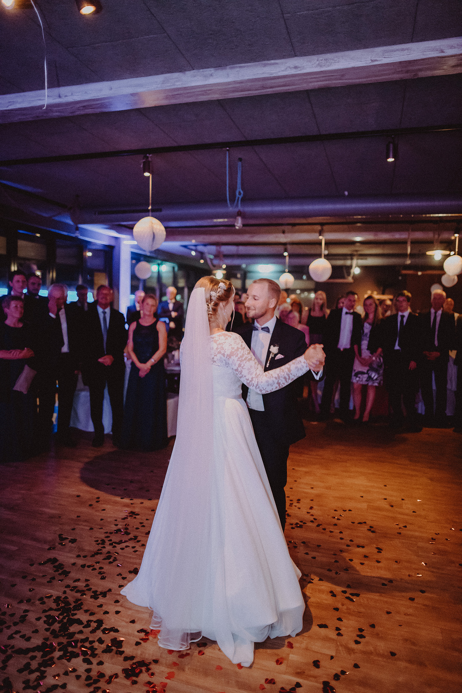Hochzeitsfoto eines Hochzeitsfotografen / Fotografen in Lingen Emsland